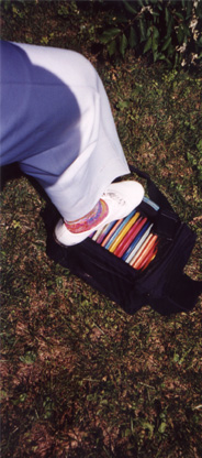 Proper footwear is essential, as is a complete collection of discs.